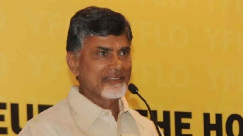 AP Chief Minister and Telugu Desam national president N. Chandrababu Naidu