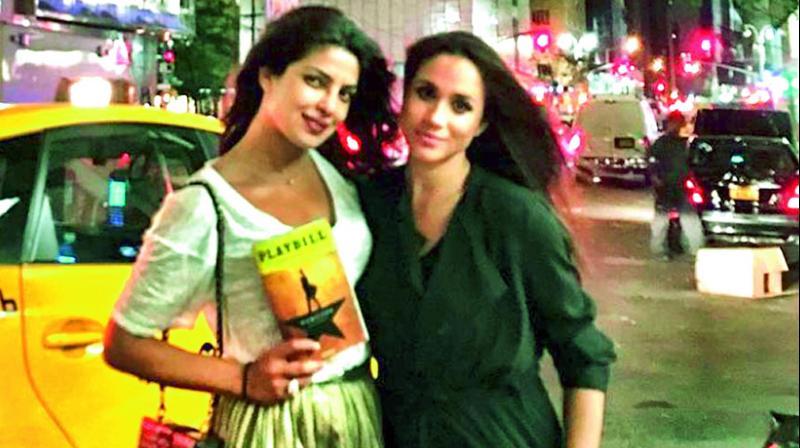 Priyanka Chopra is good friends with Meghan Markle.