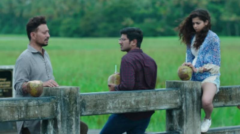 Still from the movie Karwaan