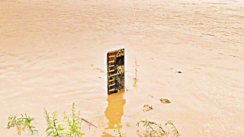 Water level nearing danger level at Uppinangady   (Image: DC)