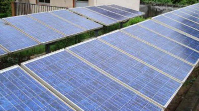 Around 5,000MW of solar power is generated in Telangana state and 8,000MW in Andhra Pradesh. (Representational Image)