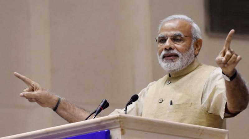Narendra Modi will on Wednesday address a Kisan Kalyan rally in Punjab's Muktsar district.