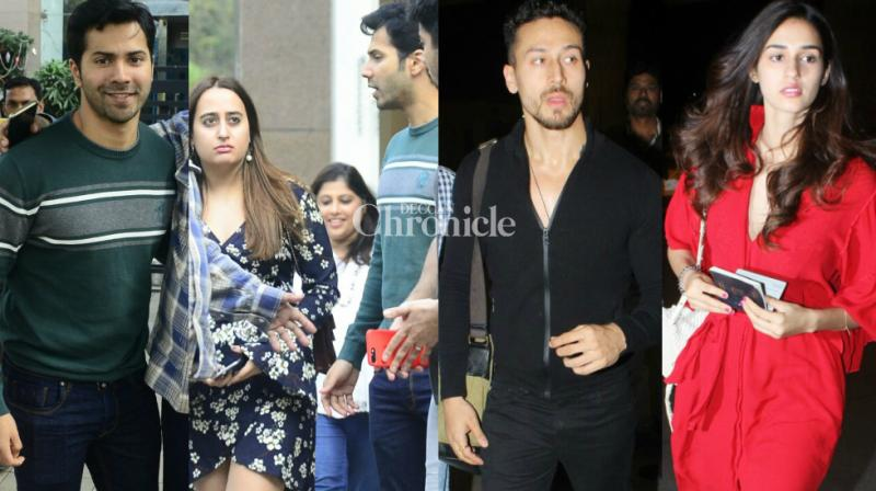 Popular Bollywood couples stepped out at various locations in Mumbai on Wednesday and were snapped by the cameras. (Photo: Viral Bhayani)