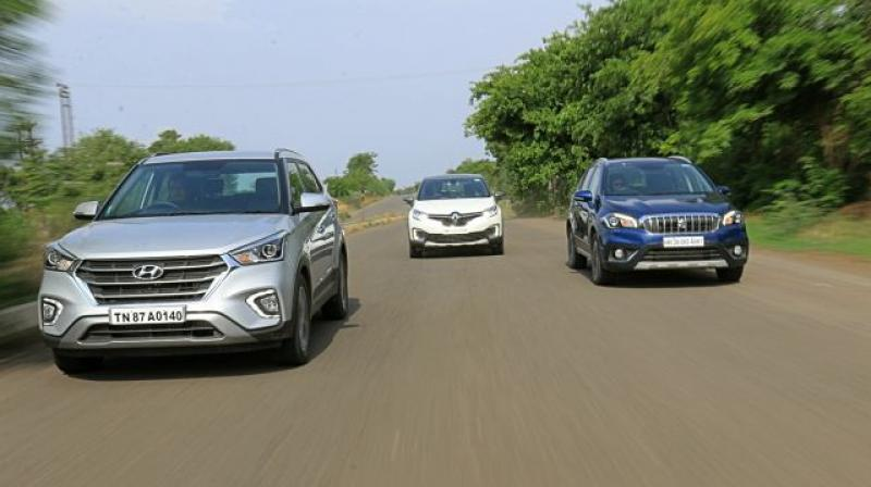 Kolkata, Surat, Ghaziabad have the least average waiting period on all cars.