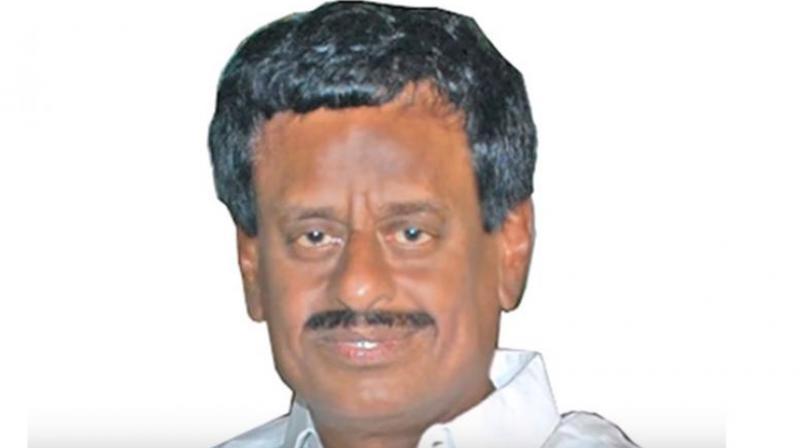 Former Puducherry Agriculture Minister VMC Sivakumar. (Photo: Screengrab)