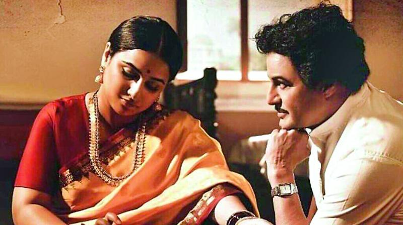 Balakrishna and Vidya Balan in NTR biopic