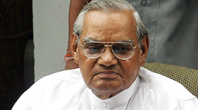 AIIMS had on Tuesday said that Atal Bihari Vajpayee was responding well to treatment. (Photo: File/PTI)