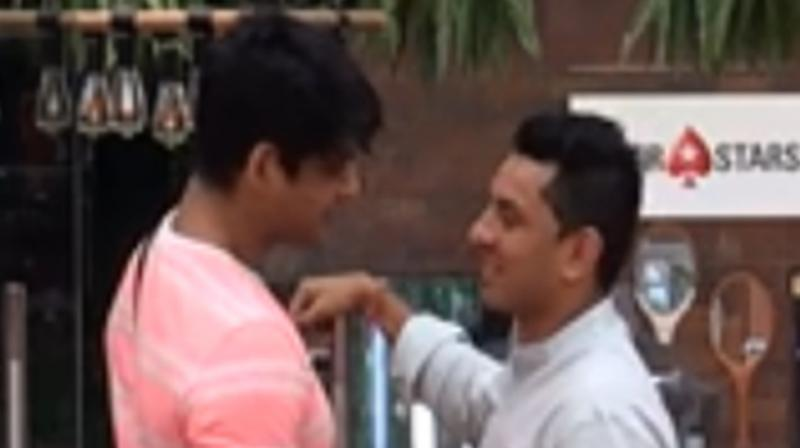 Sidharth Shukla and Tehseen Poonawala. (Photo: VOOT)
