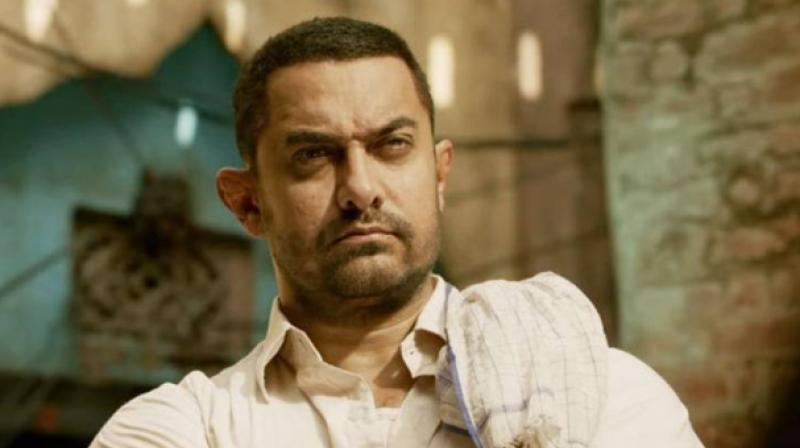 Aamir Khan in a still from 'Dangal.'