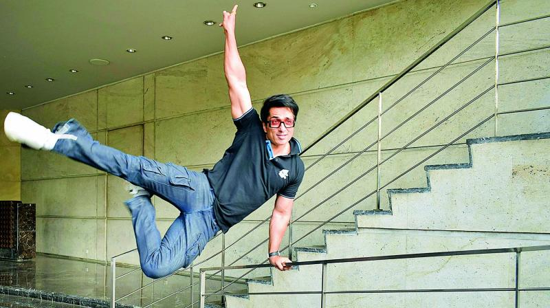 Fitness gyan Sonu Sood will soon be launching his own fitness channel for fans.