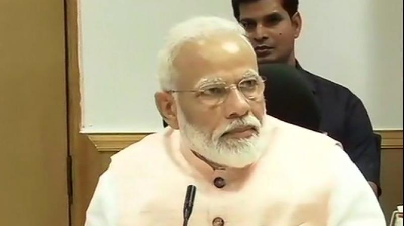 PM Modi also discussed the Budget proposals during the meeting. (Photo: ANI)