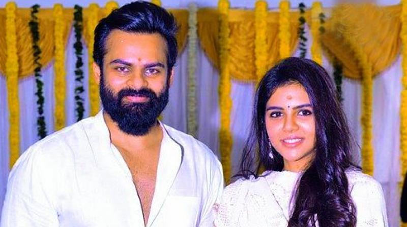 Sai Dharam Tej and Kalyani Priyadarshan
