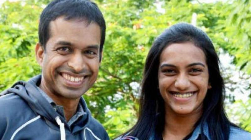 The film, an ode from Sindhu to Gopichand, will tell the story of the Hyderabadi as a young girl in search of a normal childhood and how her life was transformed by a formidable force, someone responsible for her meteoric rise to success.(Photo: AFP)