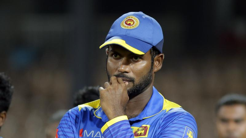 Wednesday's match will be Tharanga's first since being named skipper for the shortest form of the game in July following the resignation of Angelo Mathews who was the captain for all three formats of the game.(Photo: AP)