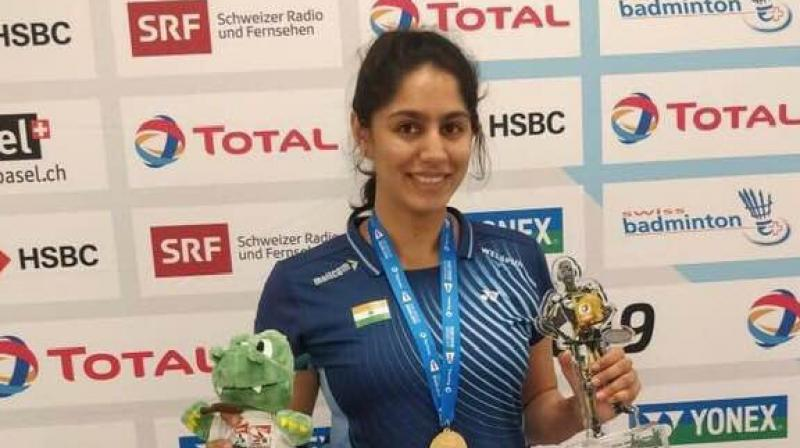Joshi had defeated Parul Parmar 21-12, 21-7 to win the gold medal in the women's singles SL3 category. (Photo: Manasi Joshi/Twitter)
