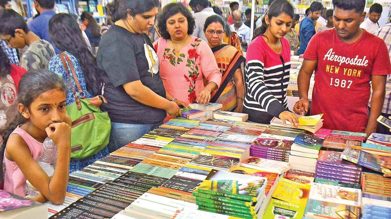 Chennai book fair to end today, 12 lakh books sold
