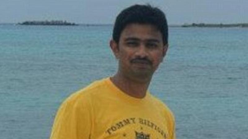 Srinivas Kuchibhotla, who was killed by a gunman in a Kansar