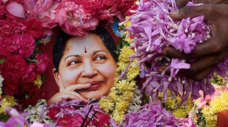 Former Tamil Nadu Chief Minister and AIADMK chief J Jayalalithaa (Photo: PTI)
