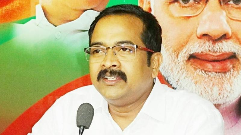 Telangana BJP spokesperson Krishna Saagar Rao. (Photo: Facebook)