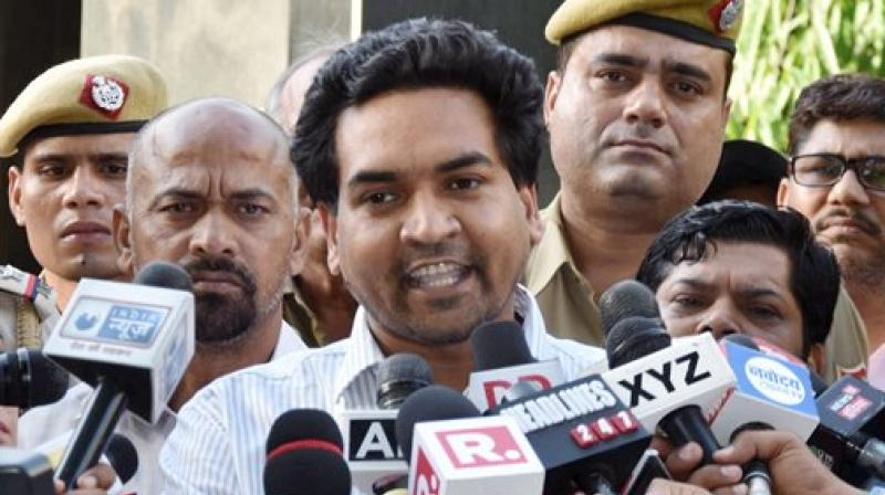 Sacked Delhi minister Kapil Mishra (Photo: File)