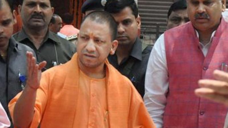 Yogi Aditynath's chopper makes emergency landing in Kasganj, CM safe