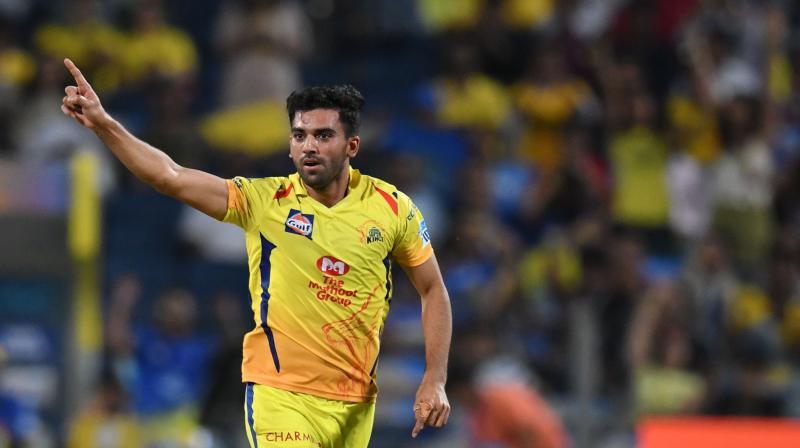 IPL 2018: Chennai Super Kings' Deepak Chahar out for 2 weeks ...