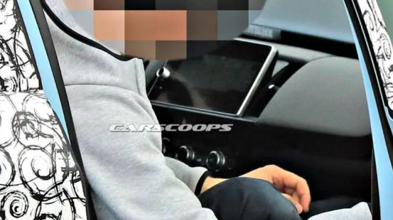 Fourth Gen Honda Jazz Spied Again Interior Revealed