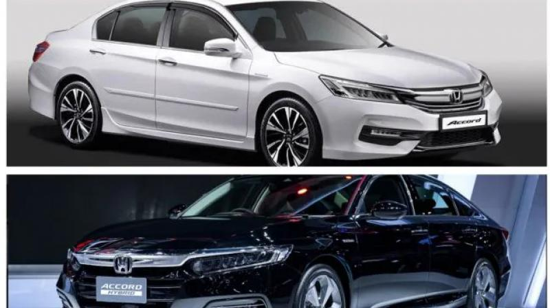 New Accord is also wider than the current model sold in India.
