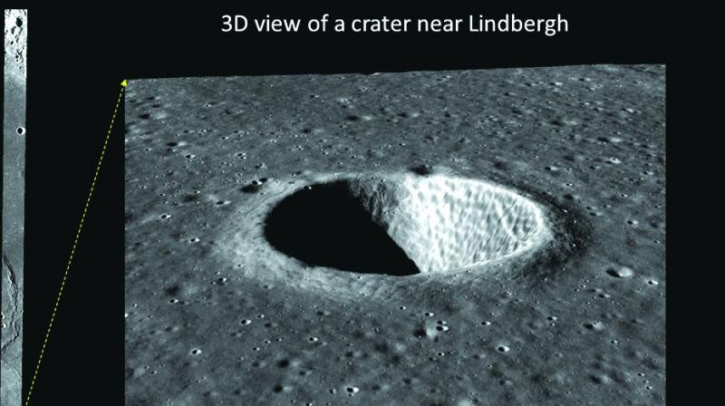 The pictures will help Isro estimate the dimensions of the features which will help in determining moon's surface age.