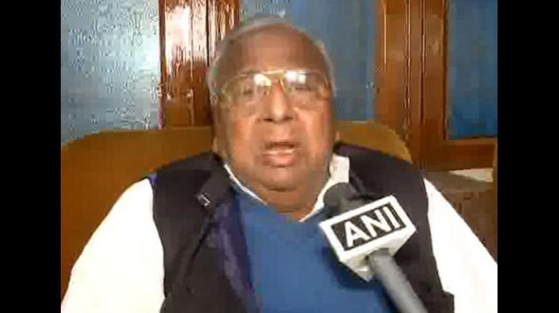 Senior Telangana Congress leader V Hanumantha Rao. (Photo: ANI)