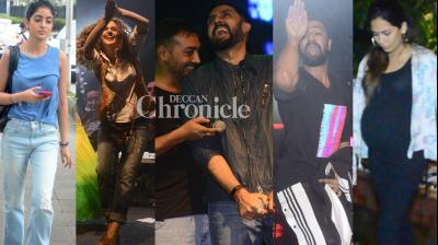 The team of 'Manmarziyaan' promoted their film in the city, while other stars were also spotted in Mumbai on Sunday. (Photos: Viral Bhayani)