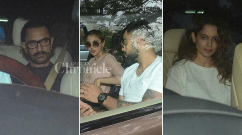 The legendary actress Sridevi's death came as a shock to the entire film fraternity, and now, after her last rites were performed, the feeling of losing her is sinking in. Many Bollywood celebrities like Aamir Khan, Anushka Sharma with husband Viral Kohli and Kangana Ranaut paid their visit to the late actress' home to offer condolences to the Kapoor family.