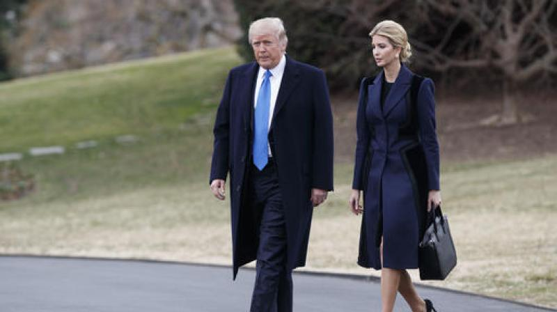 President Donald Trump with his daughter Ivanka (Photo: File/AP)