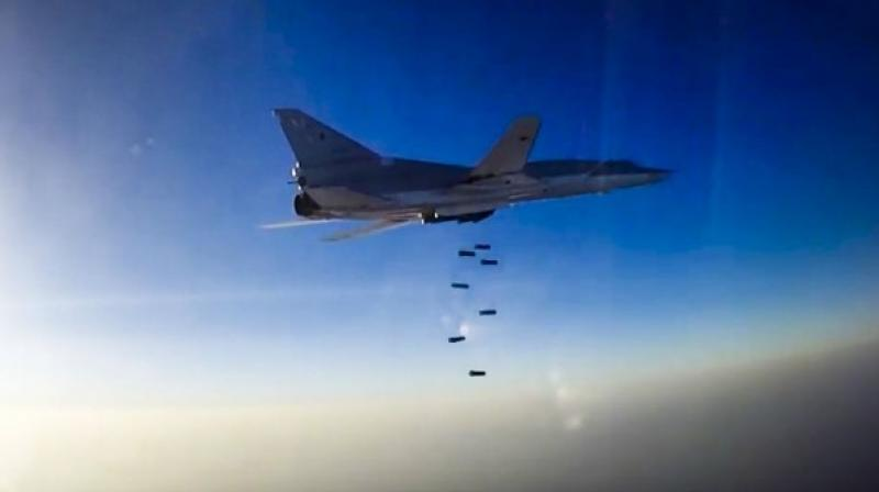 A US-led international coalition has been carrying out air strikes against the IS group in Iraq and Syria since 2014 (Photo: AP)