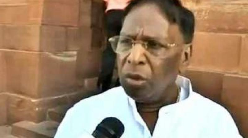 Puducherry Chief Minister V. Narayanasamy  (Photo: File)
