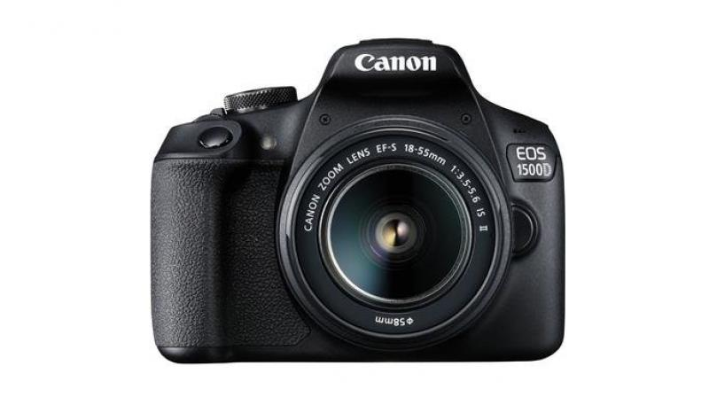 An unapolegetically simple beginner-level DSLR.