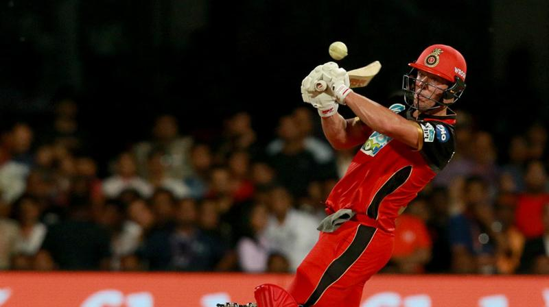 AB De Villiers Hit Ten Fours And Five Sixes In His 39 Ball 90