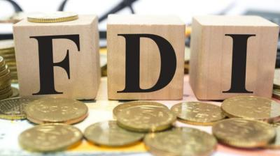 During April-June period of the current fiscal, FDI into India increased by 28 per cent to USD 16.33 billion.