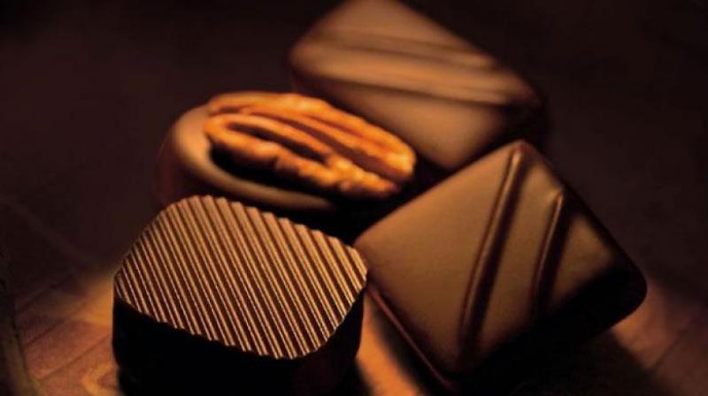Eating chocolate helps reduce the risk of one type of irregular heartbeat.