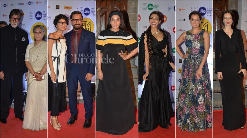 On Thursday, many Bollywood celebrities came down to attend 18th MAMI festival, which opened at iconic Royal Opera House in Mumbai. (Photo: Viral Bhayani)