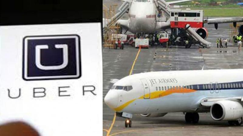 Uber And Jet Airways