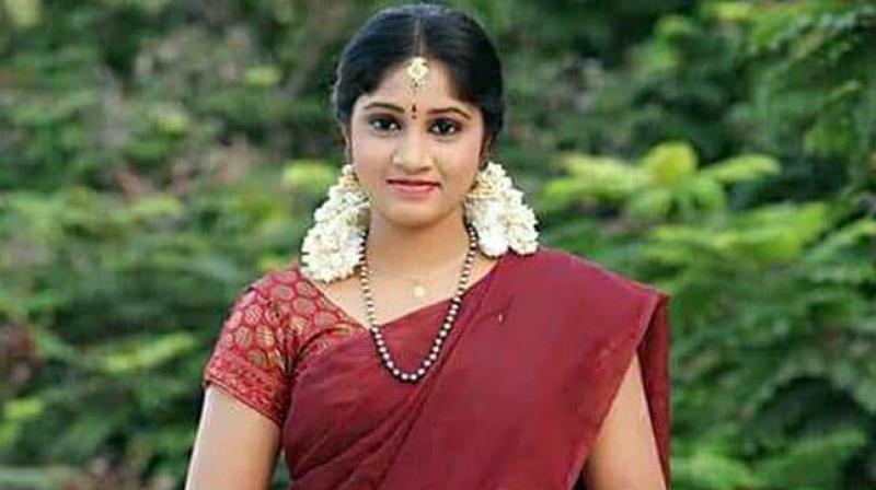 Naga Jhansi became popular with the serial 'Pavitra Bandham.' (Photo: Instagram)