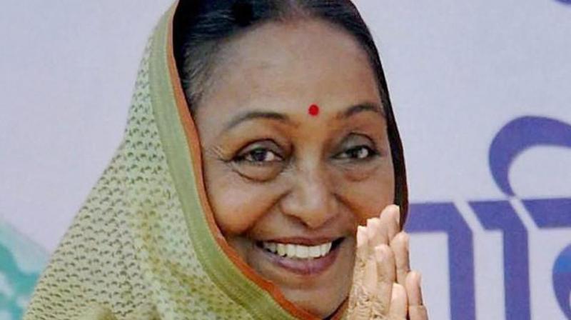 Former Lok Sabha speaker Meira Kumar (Photo: File/PTI)