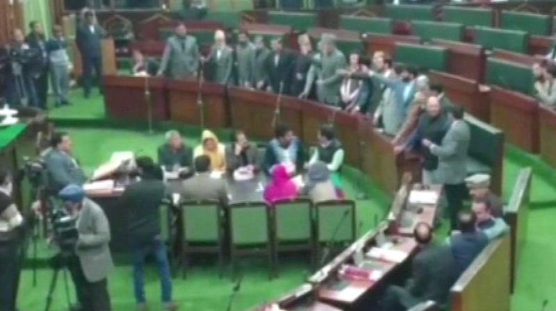 Assembly: Akbar lone shouts 'Pakistan Zindabad', his party says remarks unacceptable