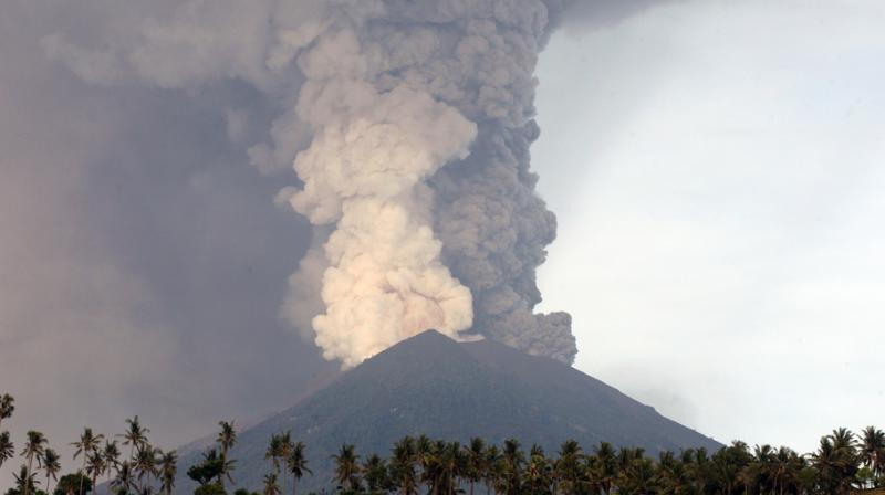 Airport officials cautioned that the only direct international gateway to the tropical island could be shuttered again if winds change direction and towering columns of smoke and ash pose a risk to flights. (Photo: AP)