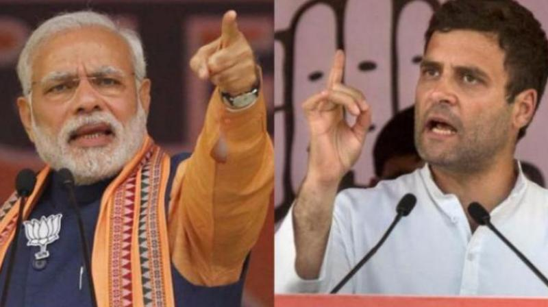 Prime Minister Narendra Modi and Congress President Rahul Gandhi (Photo: PTI)