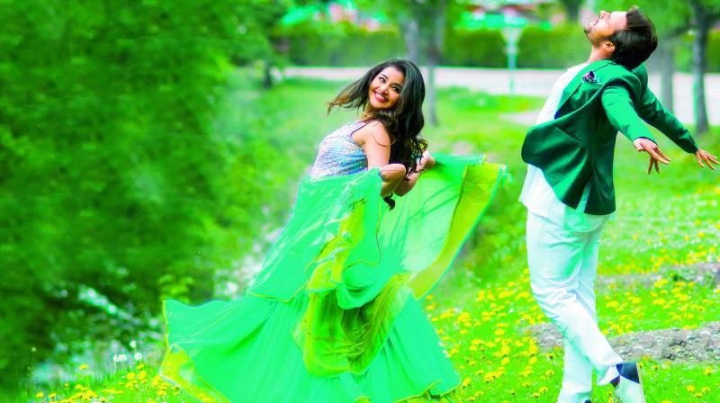 Sai Dharam Tej and Anupama Parameshwaran