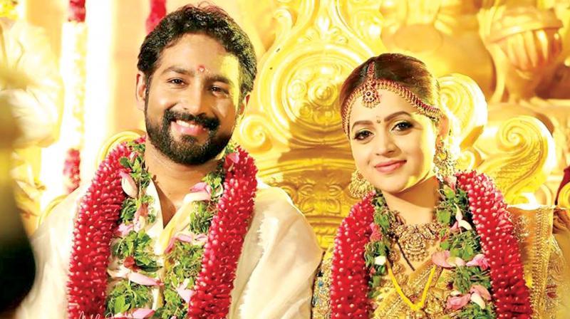 Bhavana gets a special wedding surprise from Priyanka Chopra