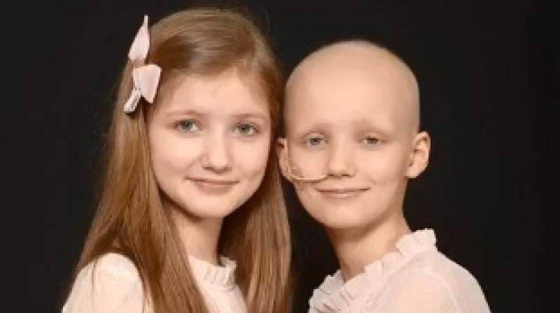 Sophie had the tumour removed along with the left kidney in December and will undergo chemotherapy till June (Photo: YouTube)