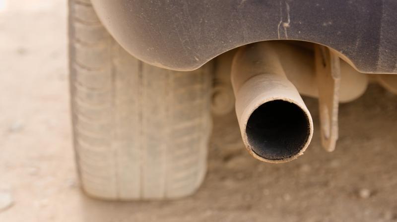 Drunk teen gets her head stuck in an exhaust pipe